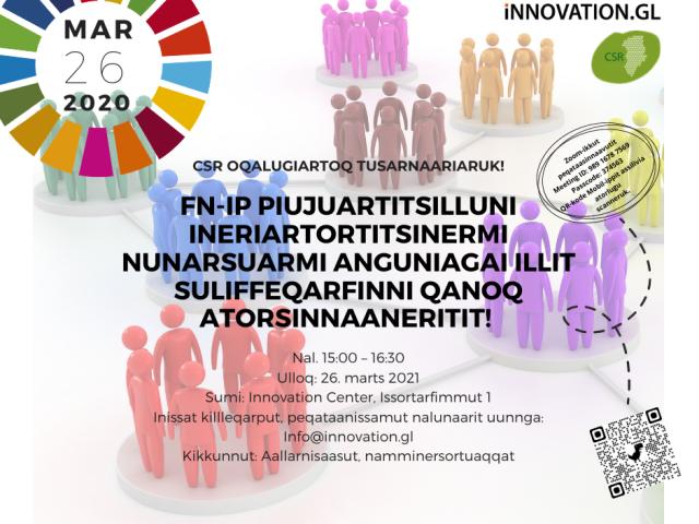 CSR Greenland fremlægger til iværksættere