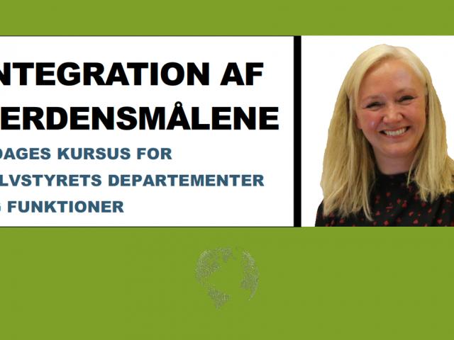Kursus for Selvstyrets Departementer og funktioner: Integration af Verdensmåle